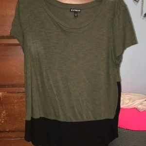 Express soft and sheer top